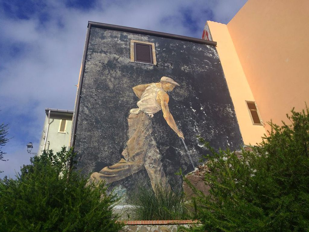 Murales a Montresta Sardegna