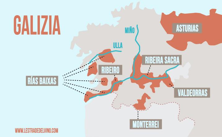 Cartina Spagna Galizia.Grandi Bianchi Di Spagna Alla Scoperta Della Galizia Le Strade Del Vino Sardegna