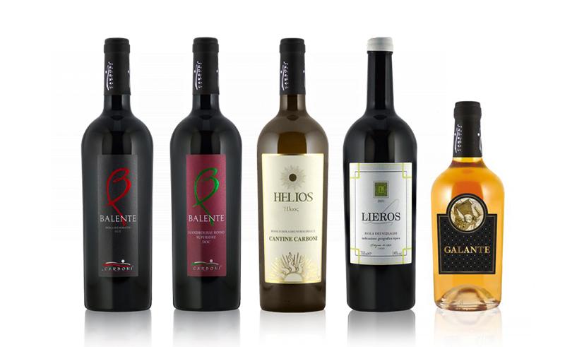 Bottiglie Vini Carboni - Ortueri